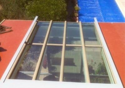 store de toiture sur veranda soliso protection solaire exterieur romans marseille puget