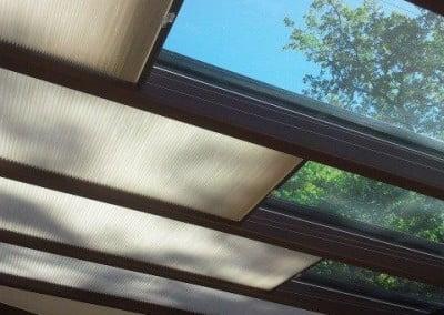 store duette saussey les pins veranda luxaflex
