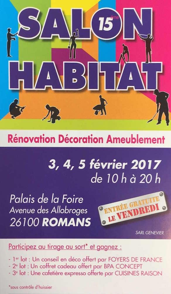 Salon de l 39 habitat de romans 2017 clara stores d co for Salon de l habitat le havre 2017